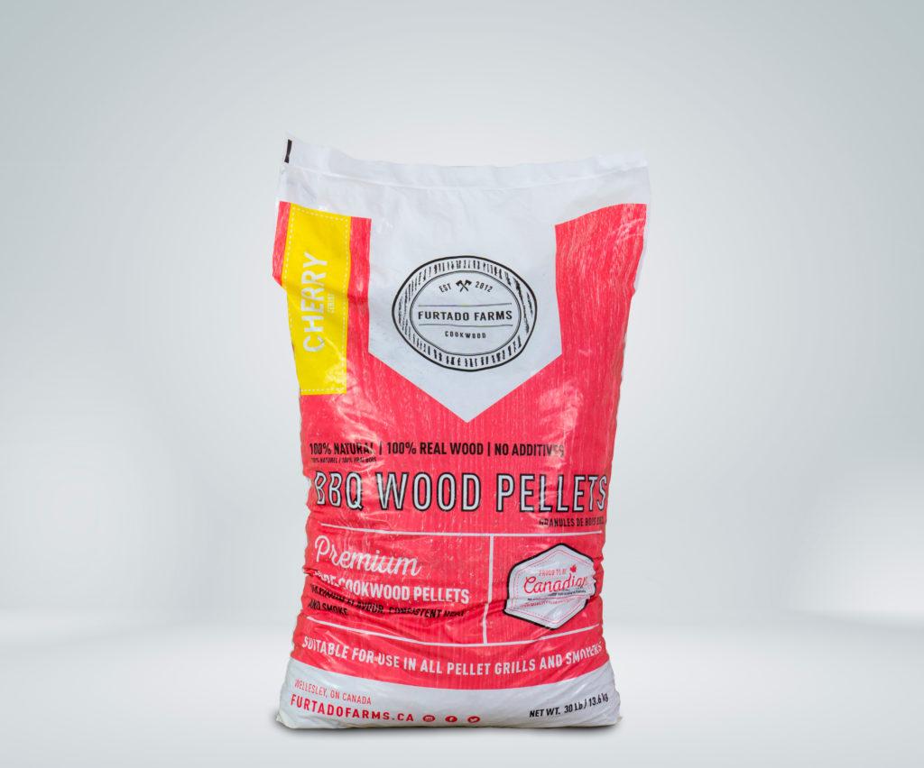 PELLET BBQ FURTADO FARMS <br>13,6Kg (30lb) CHERRY