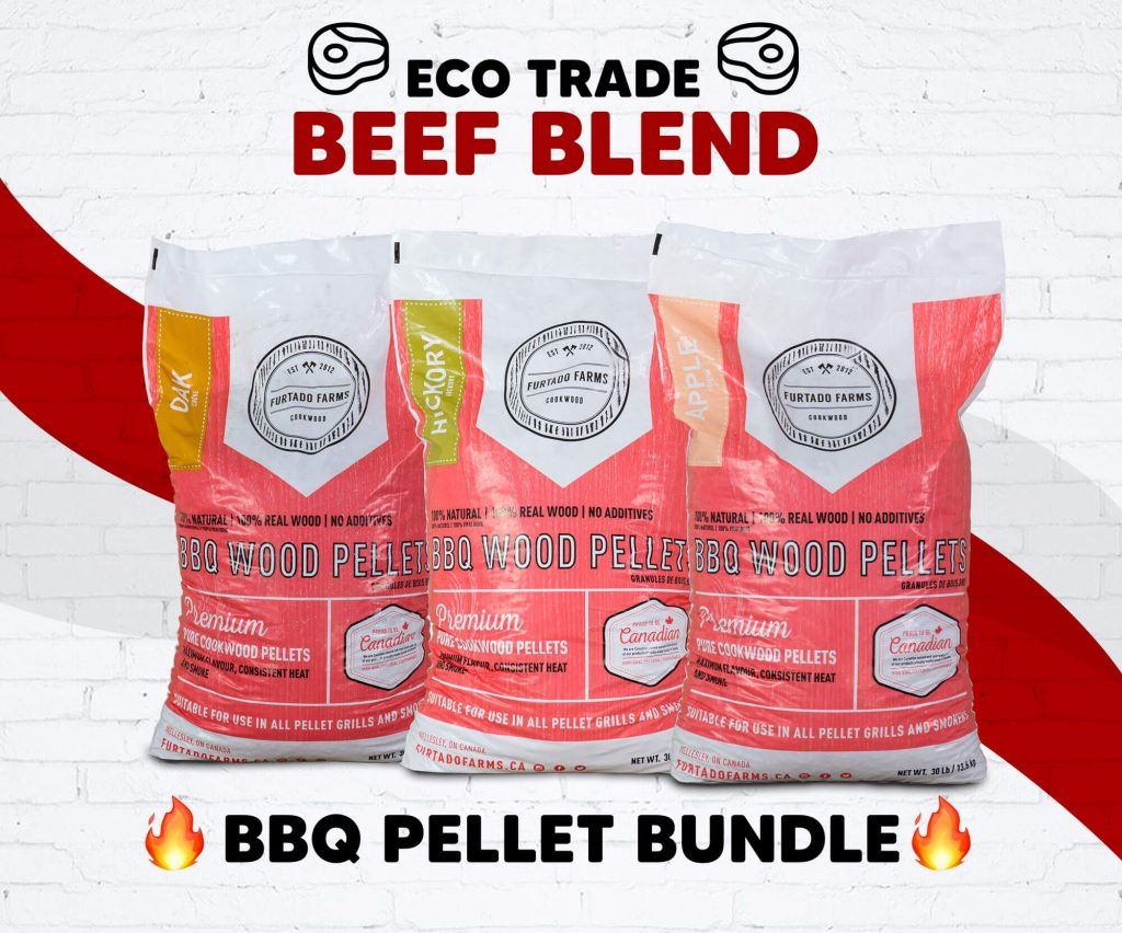"Pellet BBQ bundle <br> ""Beef Blend"" Furtado Farms"
