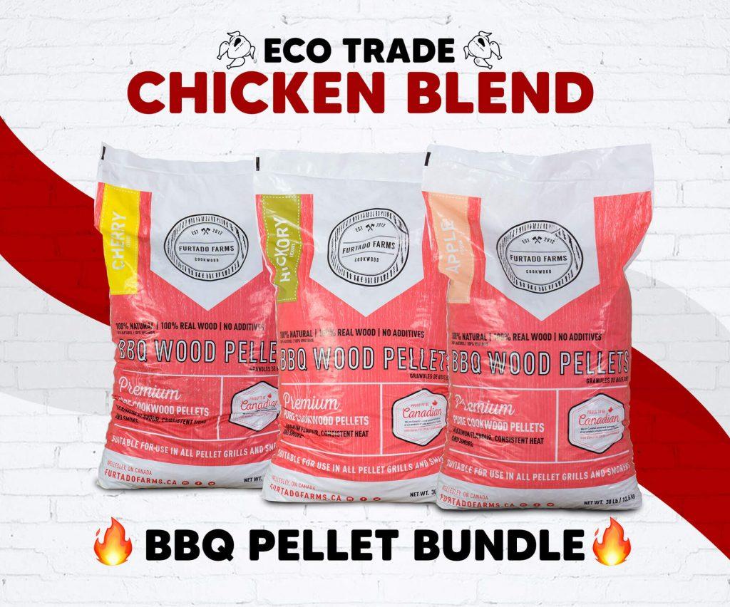"Pellet BBQ Bundle <br>""Chicken Blend"" Furtado Farms"