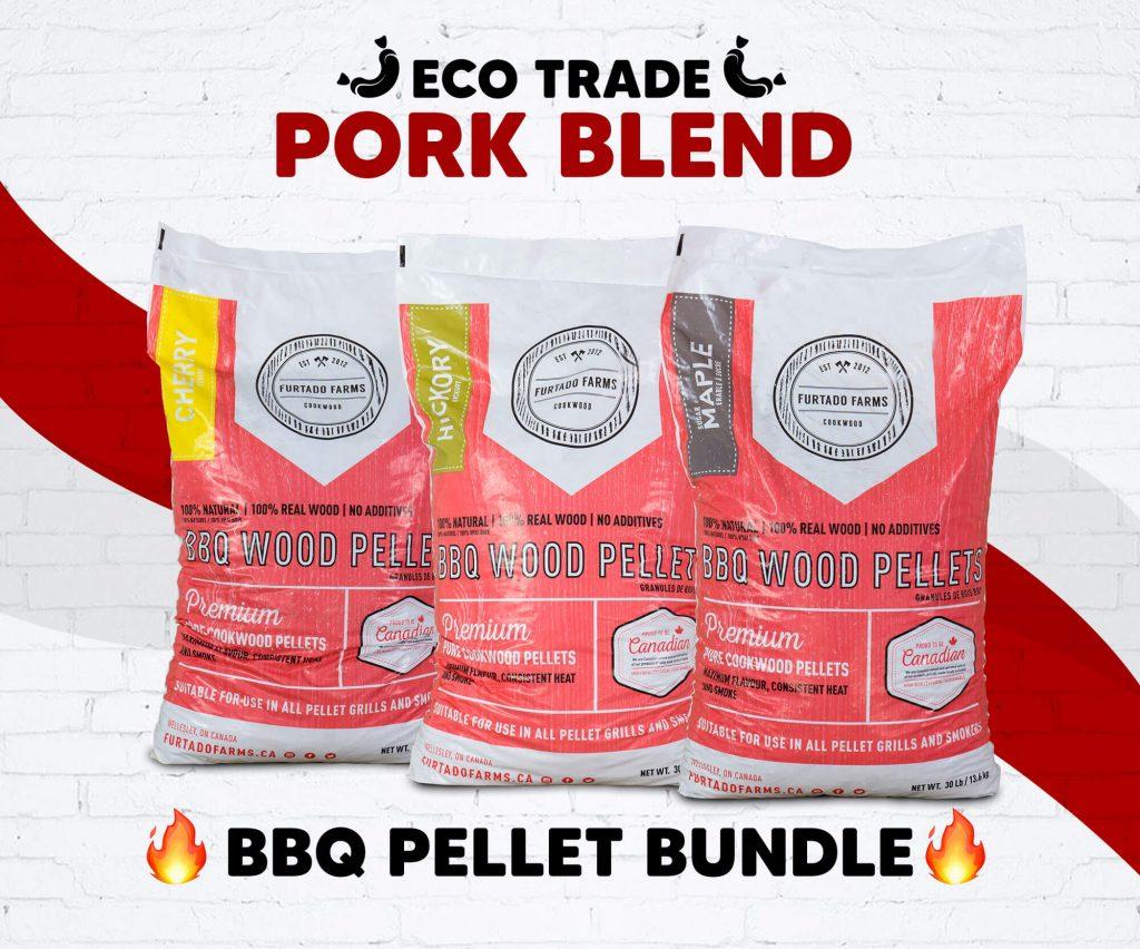"Pellet BBQ bundle <br>""Pork Blend"" Furtado Farms"
