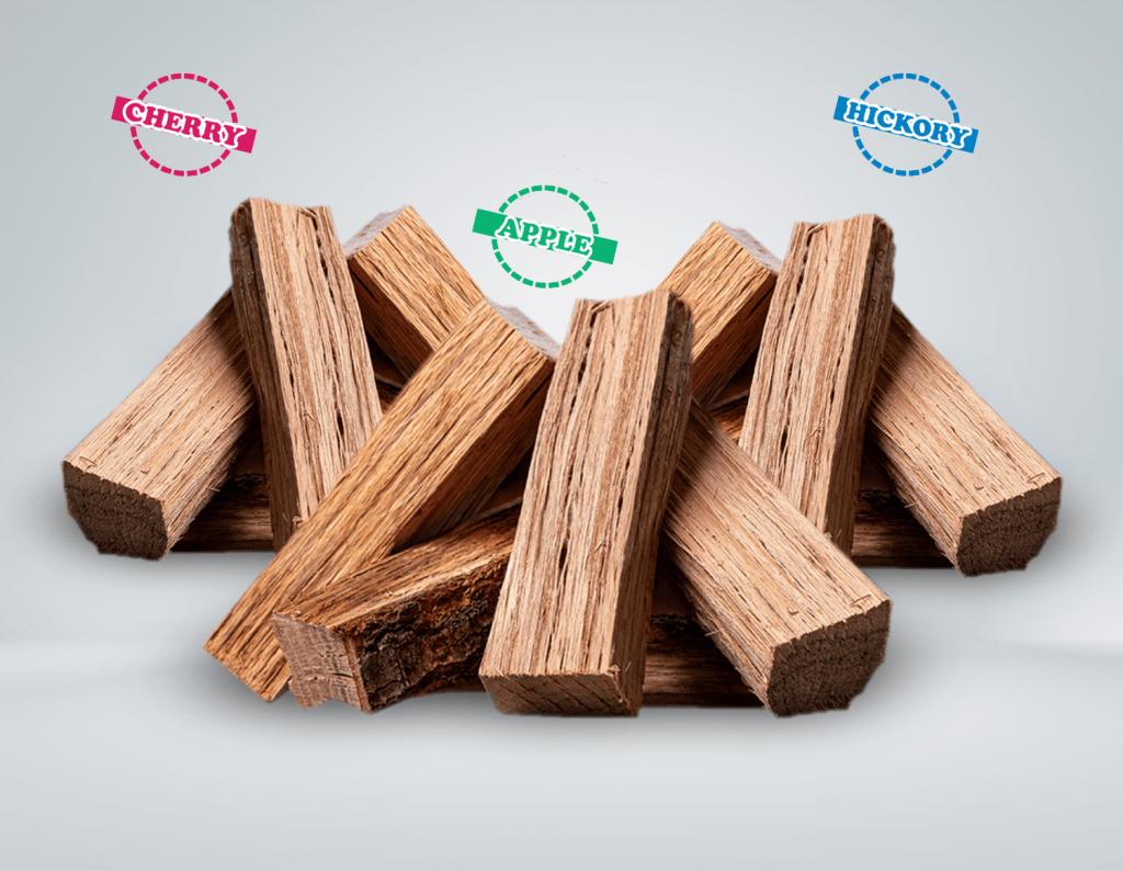 Bundle Logs (Apple, Cherry e Hickory)